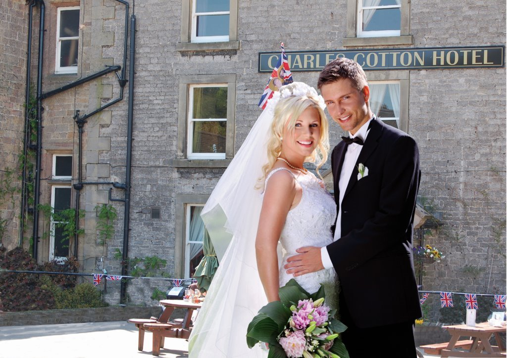 Stylish country weddings at the Charles Cotton Hotel, Hartington